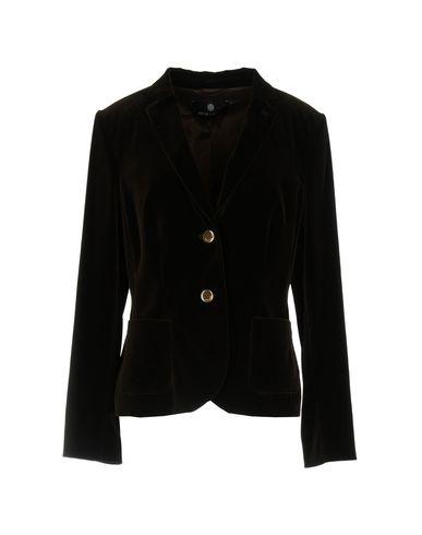 Фото - Женский пиджак  темно-коричневого цвета