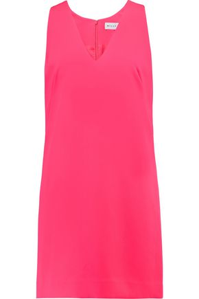MILLY Crepe mini dress