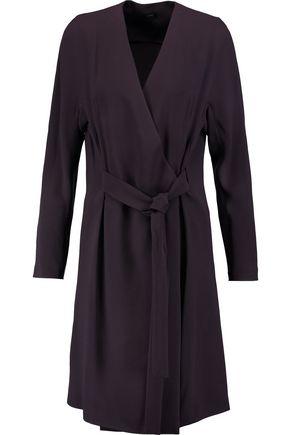 JOSEPH Hale wrap-effect crepe dress