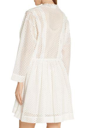 IRO Leonore broderie anglaise mini dress