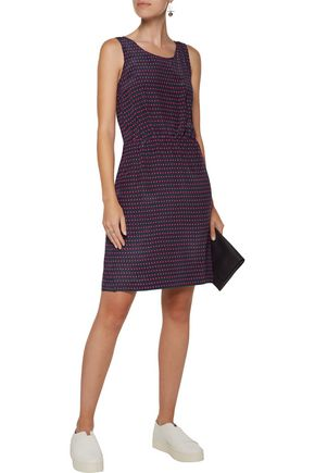 MARC BY MARC JACOBS Izzy wrap-effect printed silk crepe de chine dress