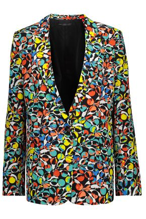 MARC BY MARC JACOBS Jungle silk crepe de chine blazer