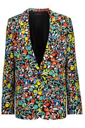 MARC BY MARC JACOBS Jungle silk crepe de chine blazer