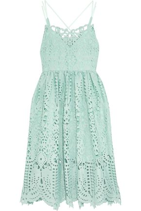 PERSEVERANCE Guipure lace midi dress