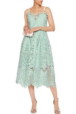PERSEVERANCE Guipure lace midi dress