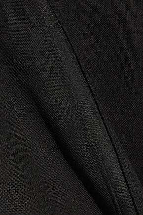 JASON WU Silk organza-paneled wool dress