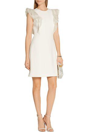 JASON WU Ruffled crepe mini dress