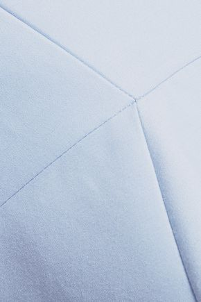 HALSTON HERITAGE Cotton-blend mini dress