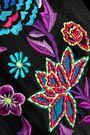 MATTHEW WILLIAMSON Sakura embroidered silk crepe de chine midi dress