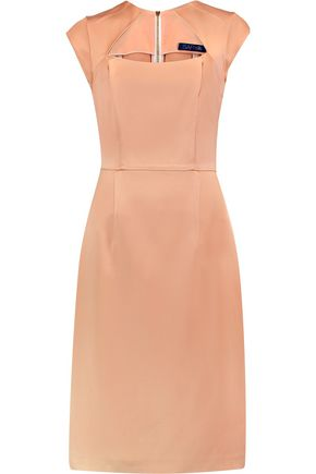SAFIYAA Satin-crepe dress