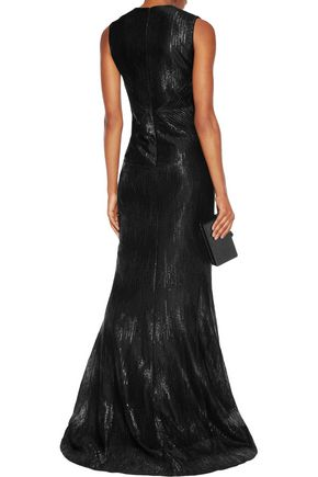 SAFIYAA Jacquard gown
