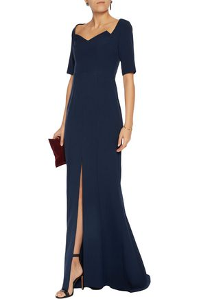 SAFIYAA Flared crepe gown