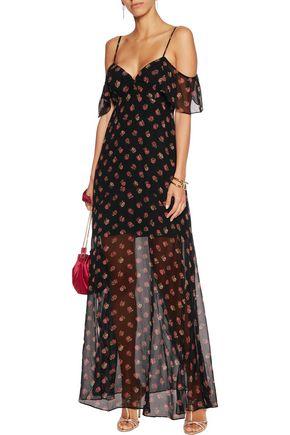NEEDLE & THREAD Prairie Ditsy printed crepe dress