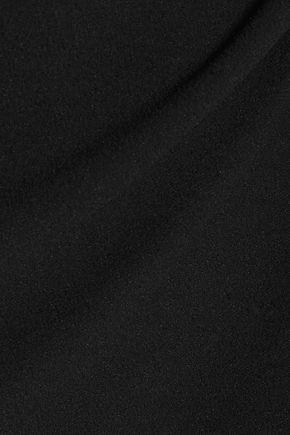 REBECCA VALLANCE Cutout crepe gown