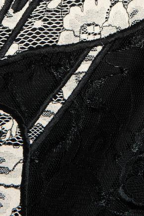 SACHIN & BABI Avant embroidered lace mini dress