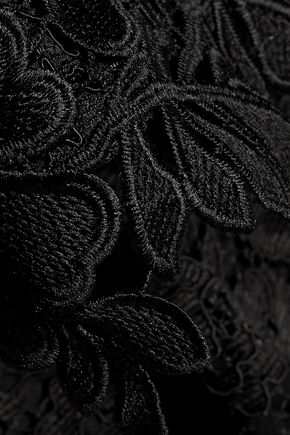 SACHIN & BABI Corded and guipure lace dress