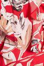 SACHIN & BABI Mina cold-shoulder ruffled printed silk gown