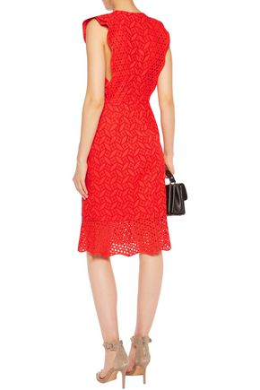 SACHIN & BABI Harlow broderie anglaise cotton dress