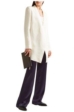 THEORY Draped linen blazer