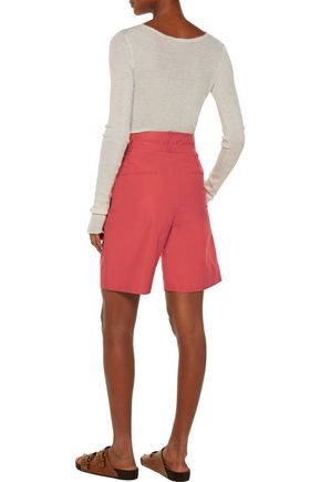 ISABEL MARANT Neddy belted cotton shorts