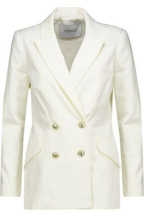10 CROSBY DEREK LAM Cotton-canvas blazer