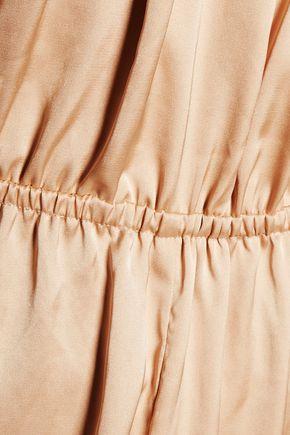 10 CROSBY DEREK LAM Ruffled satin midi dress