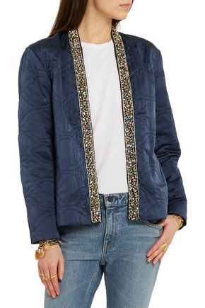 ISABEL MARANT Jasia embellished silk jacket