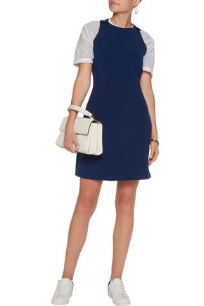 CARVEN Crepe mini dress