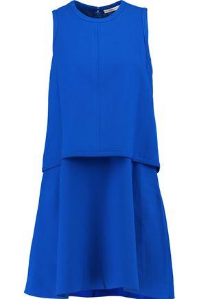 CARVEN Layered crepe mini dress