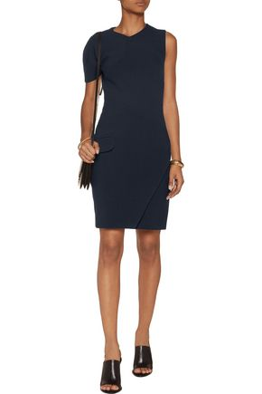 CARVEN Asymmetric woven dress
