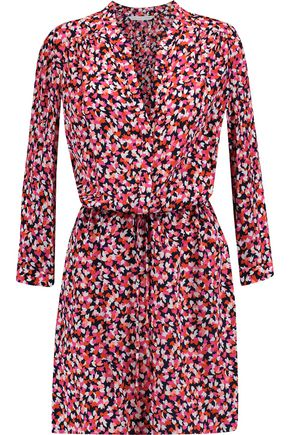 DIANE VON FURSTENBERG Freya printed silk-chiffon mini dress