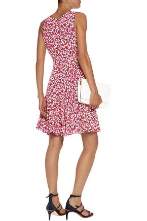 DIANE VON FURSTENBERG Printed crepe dress