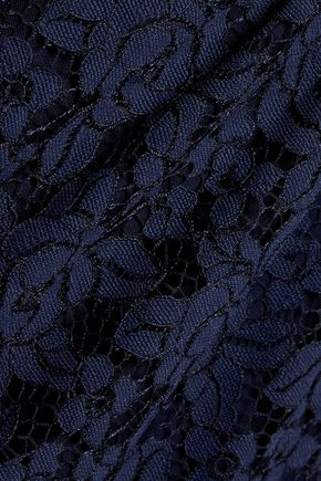 DIANE VON FURSTENBERG Colleen corded lace mini dress