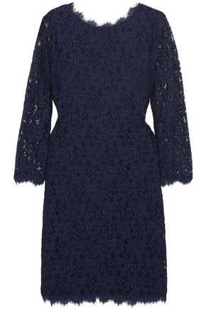DIANE VON FURSTENBERG Colleen corded lace mini dress