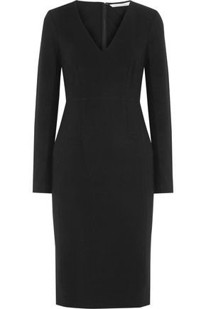 DIANE VON FURSTENBERG Milena stretch-crepe midi dress