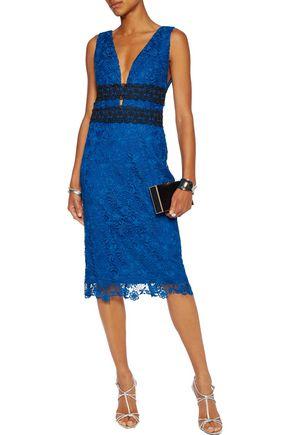 DIANE VON FURSTENBERG Viera guipure lace dress
