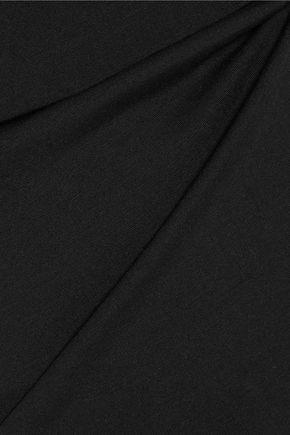 DIANE VON FURSTENBERG Layered stretch-jersey dress