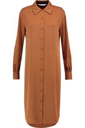 DIANE VON FURSTENBERG Silk-blend shirt dress