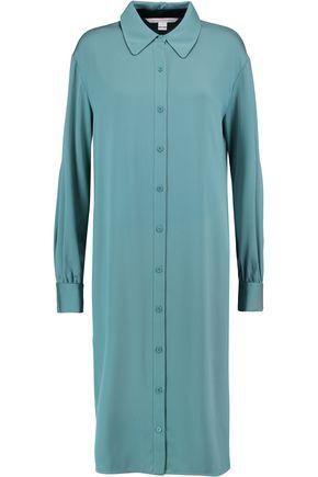 DIANE VON FURSTENBERG Tressa silk-blend shirt dress
