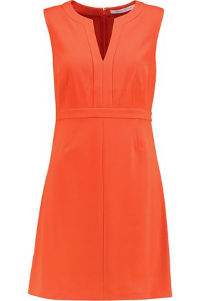 DIANE VON FURSTENBERG Fleur stretch-twill mini dress