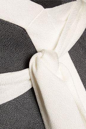 DIANE VON FURSTENBERG Cybil crepe midi wrap dress