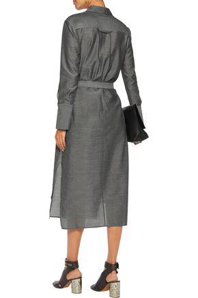 HALSTON HERITAGE Chambray dress