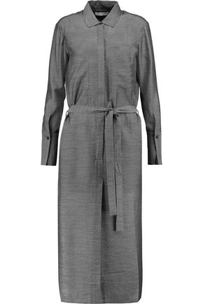 HALSTON HERITAGE Chambray dress