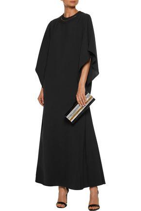 MIKAEL AGHAL Crepe maxi dress