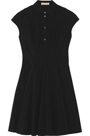 MICHAEL KORS COLLECTION Stretch-cotton poplin mini dress