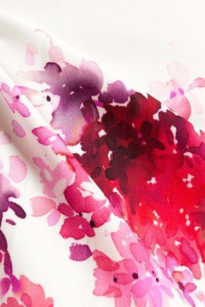 GOAT Arianna floral-print crepe dress