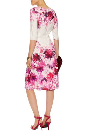 GOAT Arianna floral-print crepe dress