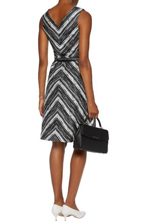 GOAT Demetrius two-tone canvas dress