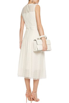 GOAT Embroidered lace midi dress