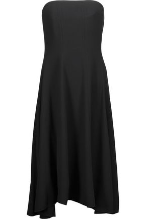 THEORY Strapless crepe dress